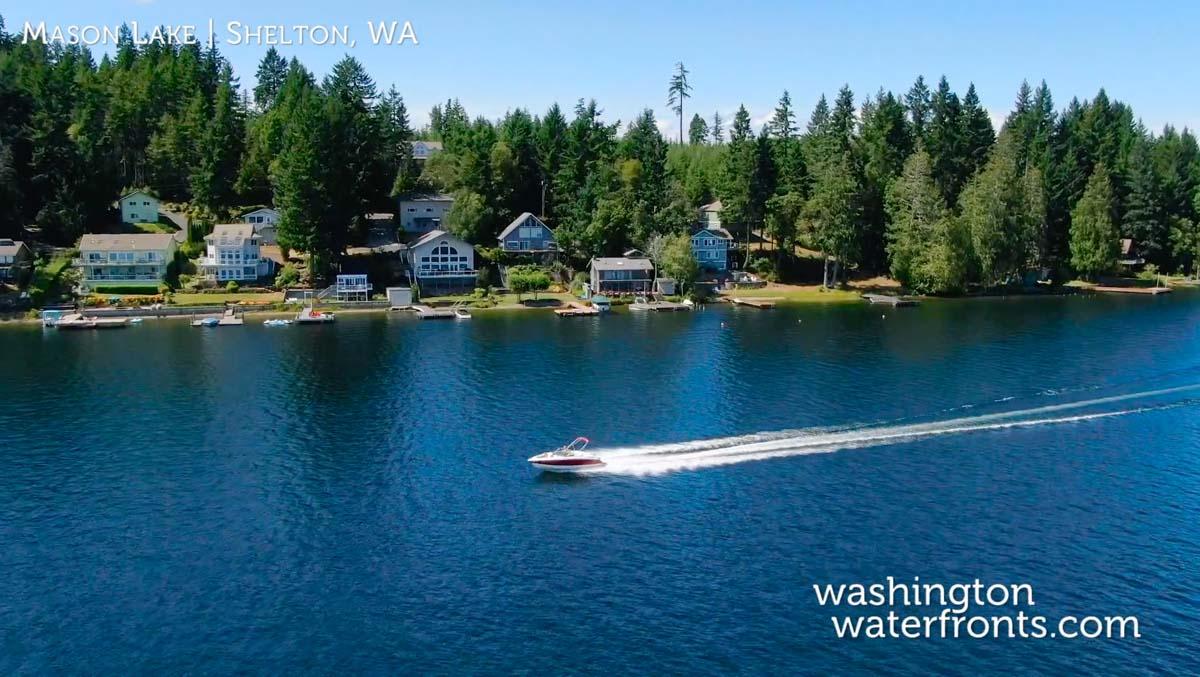 Mason Lake Waterfront Real Estate