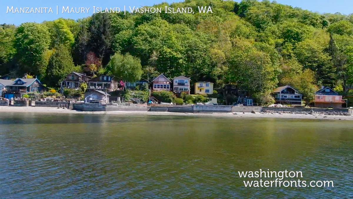 Maury Island Waterfront Real Estate