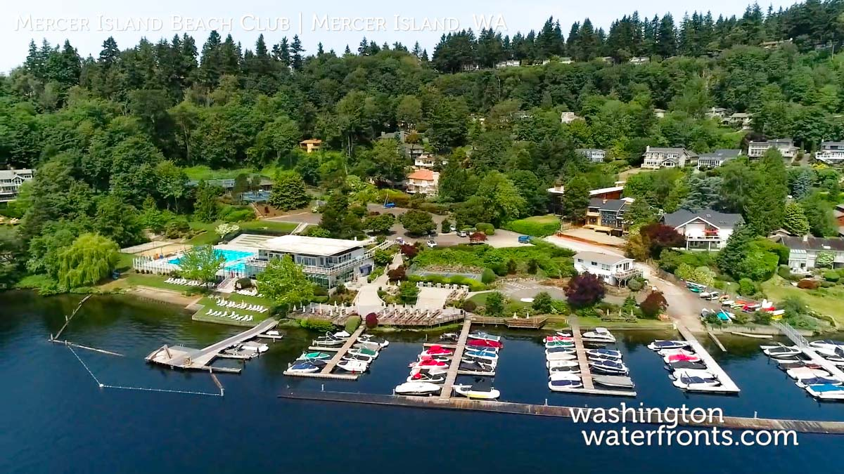 Mercer Island Beach Club Waterfront Real Estate