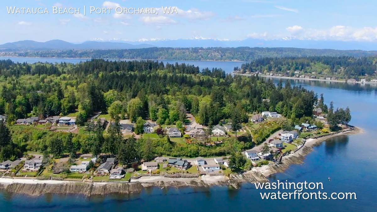 Port Orchard Waterfront Real Estate