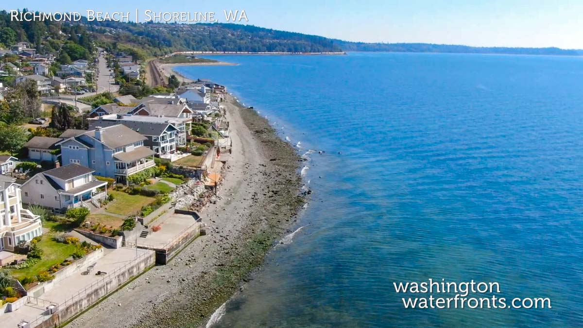 Richmond Beach Waterfront Real Estate