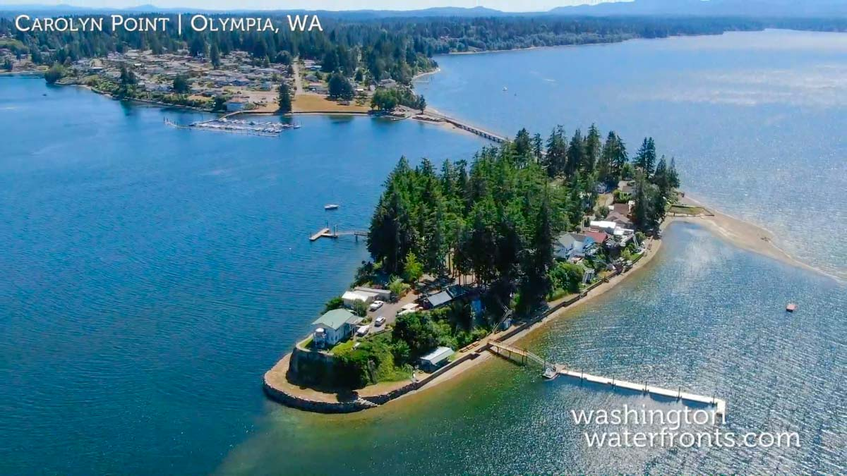 Steamboat Island Waterfront Real Estate
