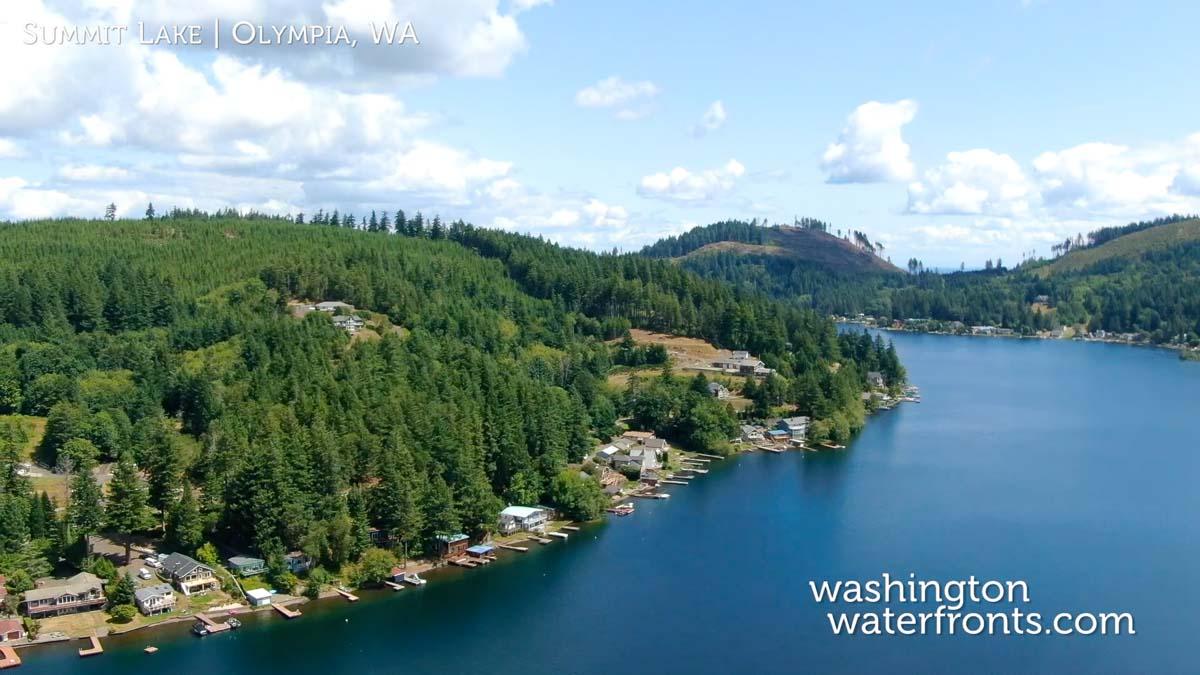 Summit Lake Waterfront Real Estate