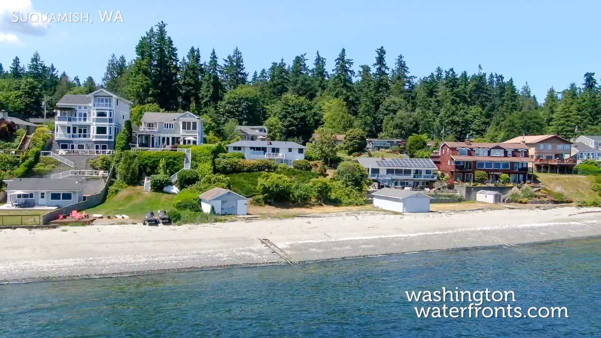 Suquamish Waterfront Real Estate