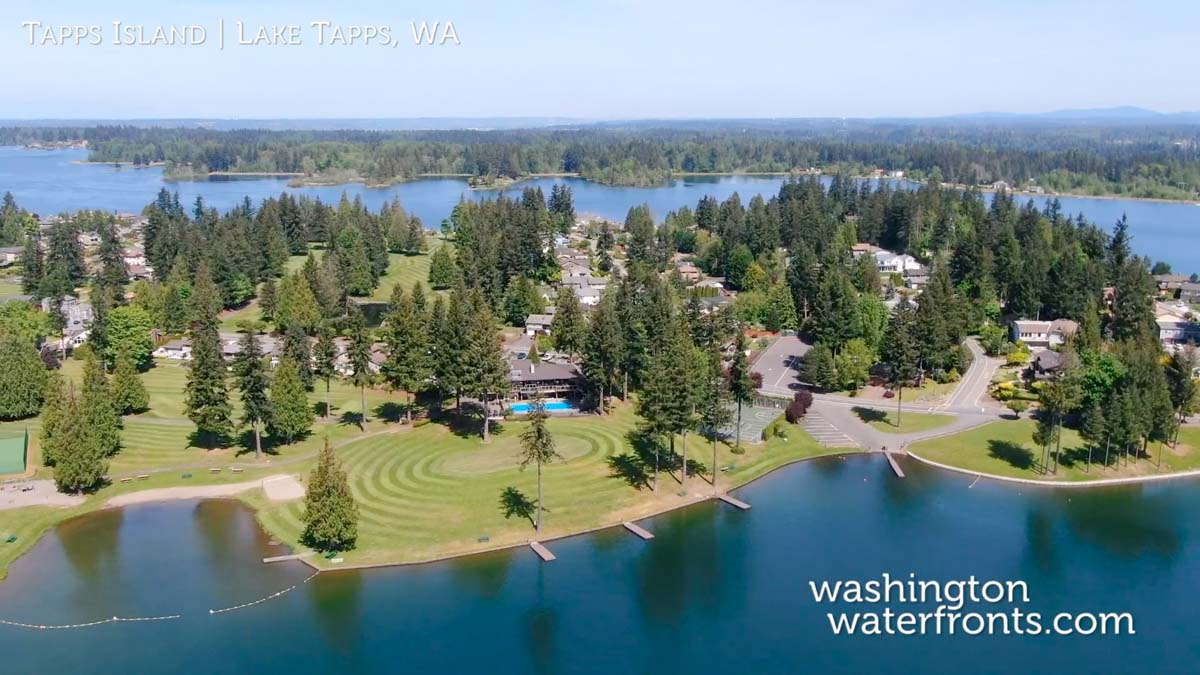 Tapps Island Waterfront Real Estate