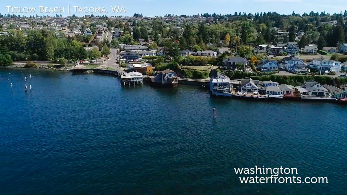 Titlow Beach Waterfront Real Estate