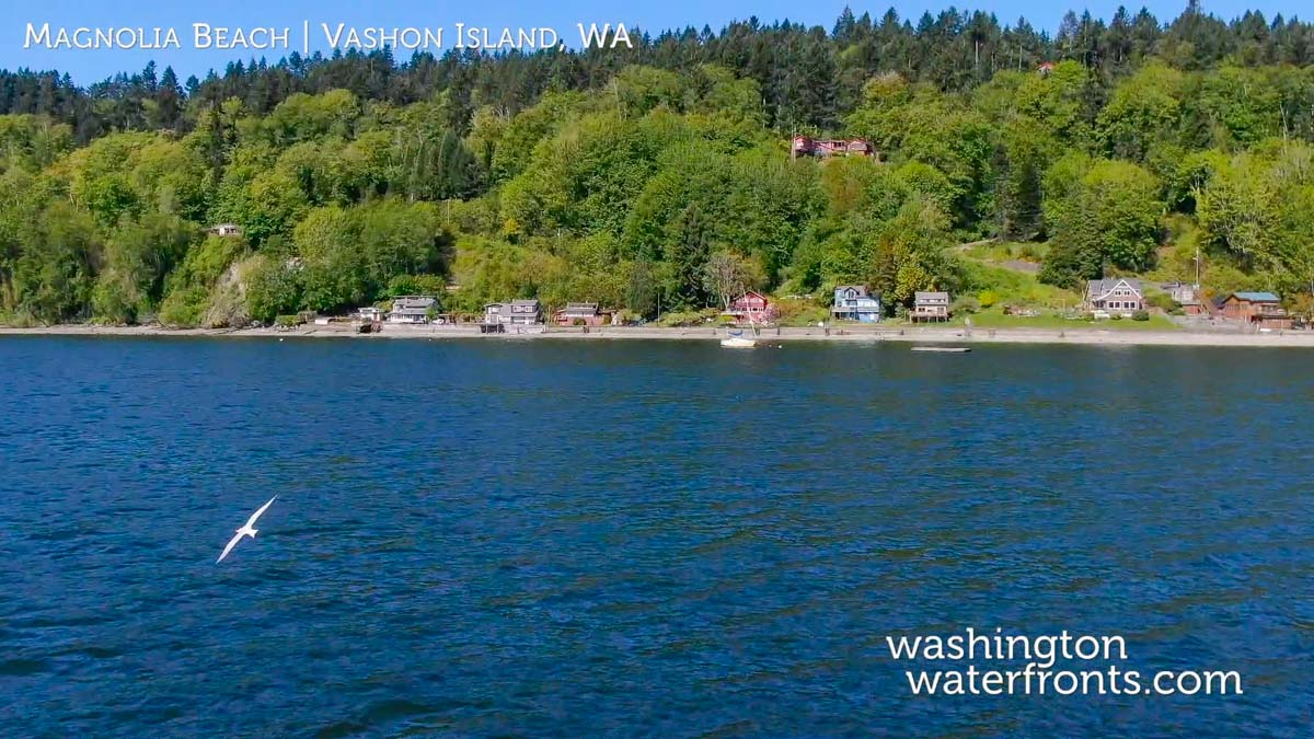 Vashon Island Waterfront Real Estate