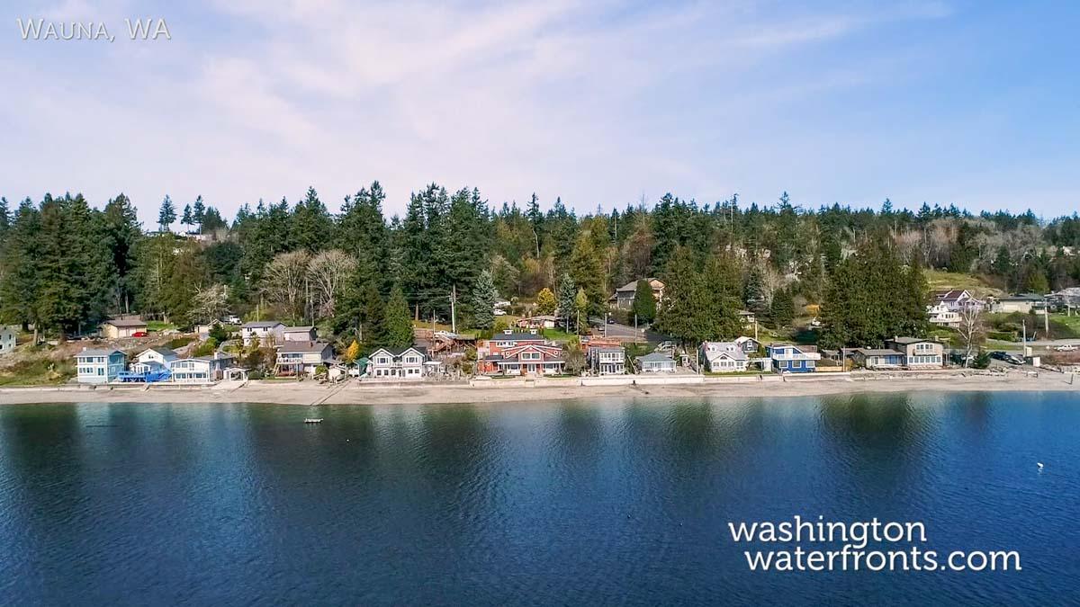 Wauna Waterfront Real Estate