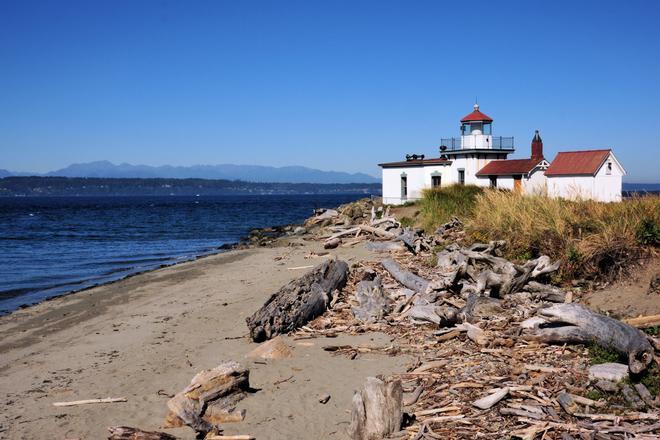 Seattle Washington Discovery Park