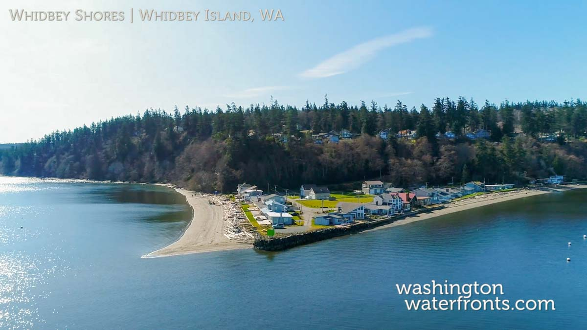 Whidbey Shores Waterfront Real Estate