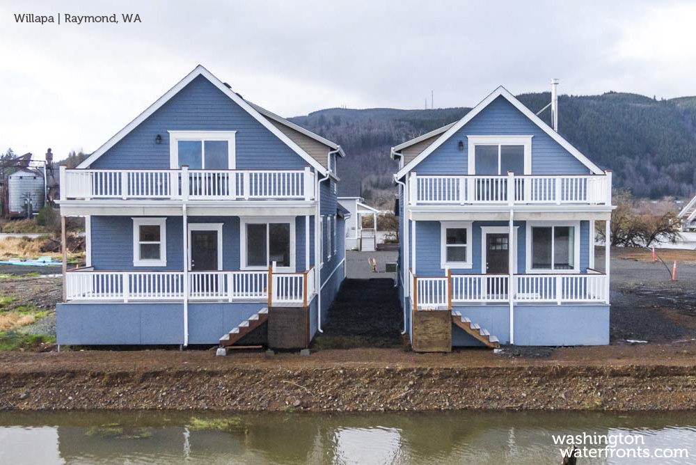 Willapa Waterfront Real Estate