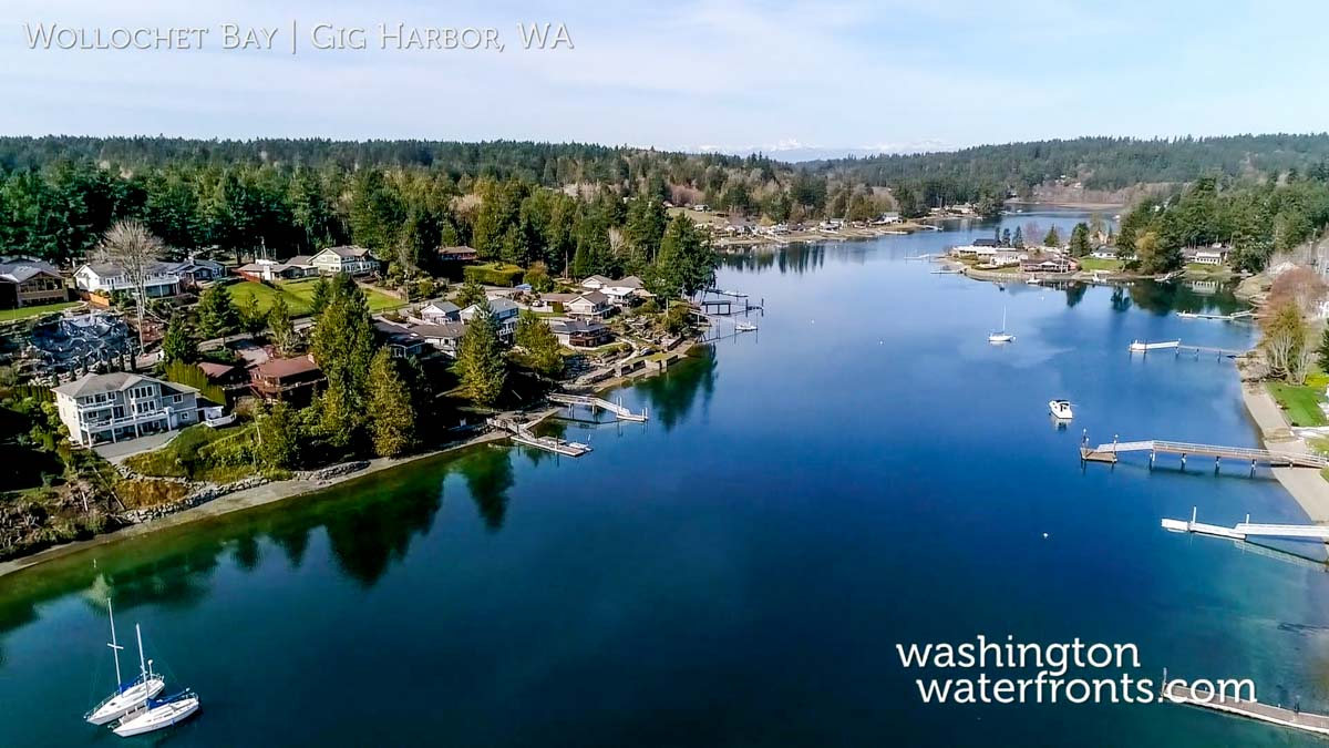 Wollochet Bay Waterfront Real Estate