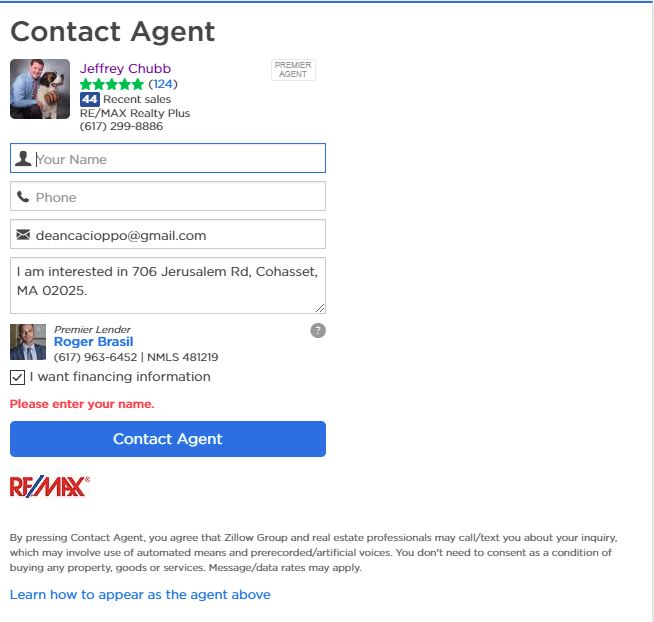 How Listing Agents show up on Zillow
