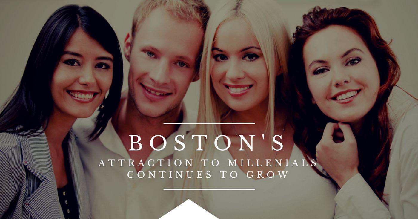 BOSTON ATTRACTS MILLENNIALS