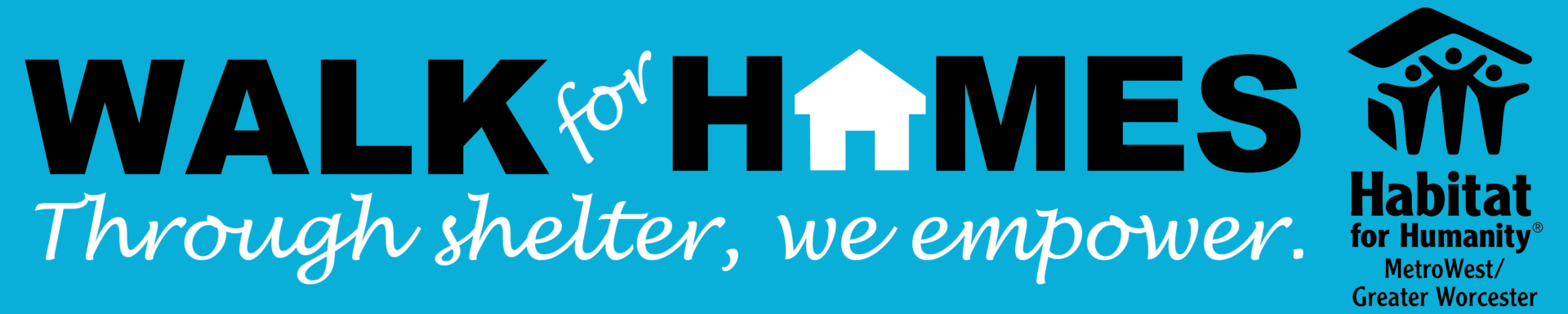 Walk for Homes logo