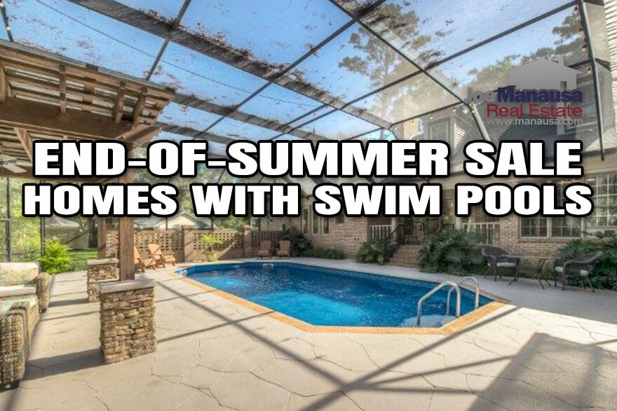 12 recently listed homes for sale with swim pools