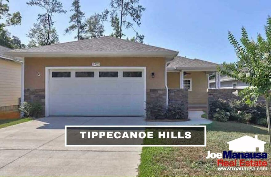 Tippecanoe Hills is a popular Northwest Tallahassee neighborhood located just north of Hartsfield Road between Old Bainbridge Road and Mission Road.