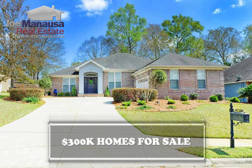 It is getting difficult to find a good value for homes priced around $300,000 in Northeast Tallahassee right now