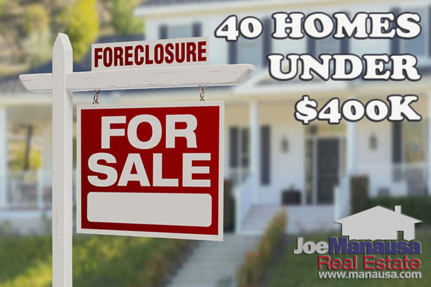 40 foreclosures for sale in Tallahassee, and all of them are priced below $400,000