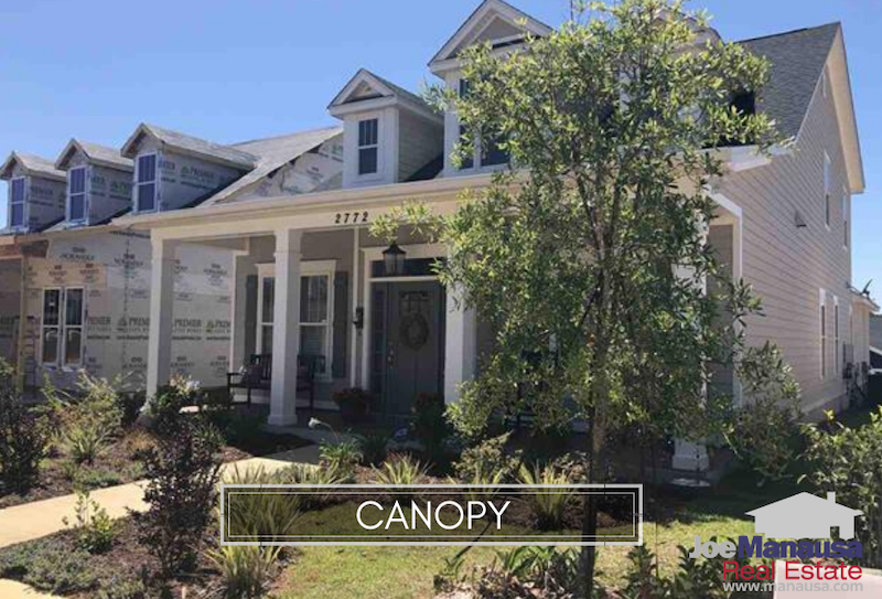 Canopy is a NE Tallahassee neighborhood currently delivering new homes priced from just below $250K to just above $360K.