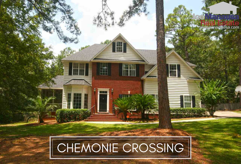 Chemonie Crossing in NE Tallahassee is a sought-after neighborhood offering large homes on acreage plots built over the past thirty or so years.