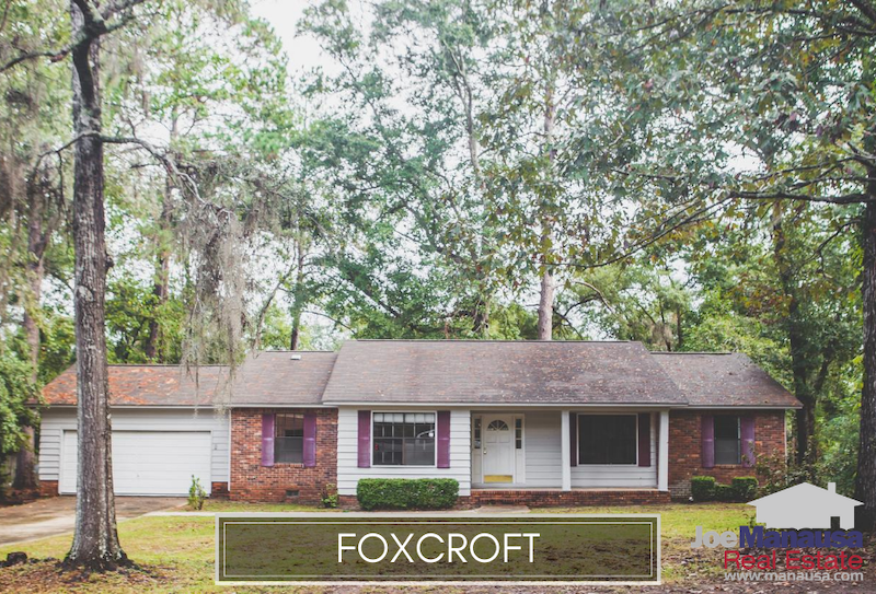 Foxcroft is one of the most in-demand neighborhoods in all of Tallahassee due to its prime location on the western edge of Killearn Estates in the northeast quadrant of Leon County.