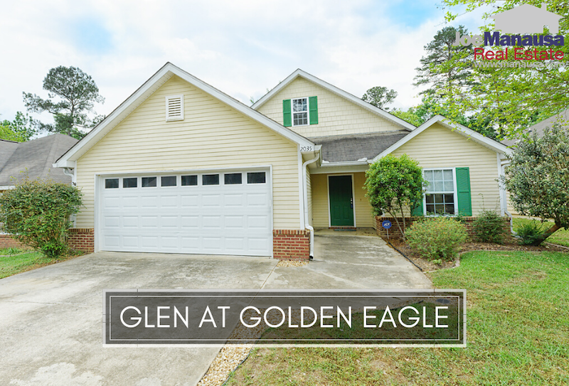 The Glen at Golden Eagle is a popular NE Tallahassee neighborhood with just over 200 three and four-bedroom patio homes.