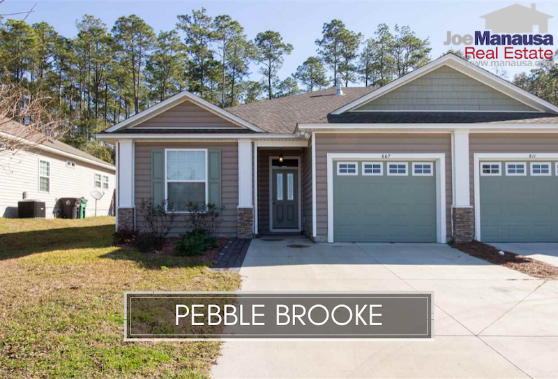 Pebble Brooke is a SE Tallahassee neighborhood located north of Tram Road about ten minutes away from the Southwood Town Center.