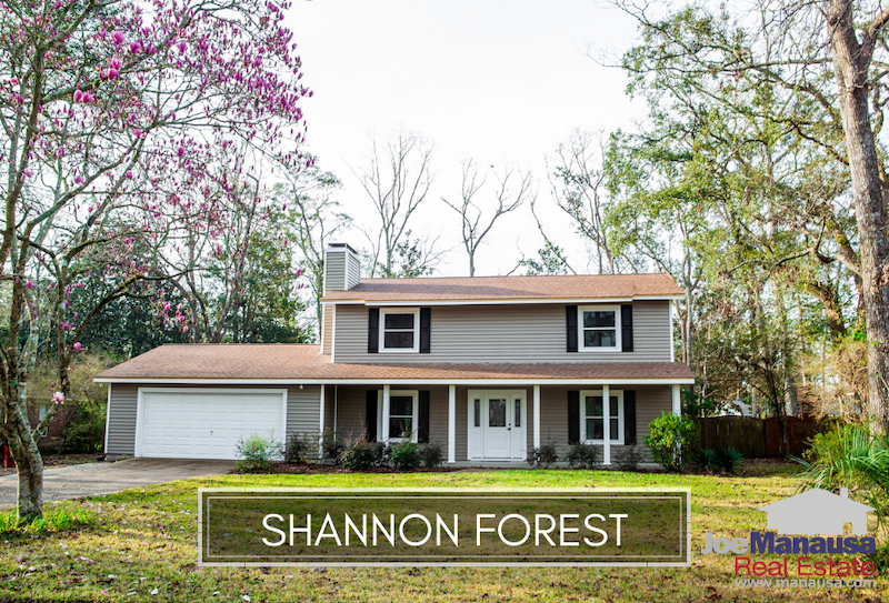 Shannon Forest is located on the east side of the Thomasville Road Corridor and serves as part of the western edge of Killearn Estates.