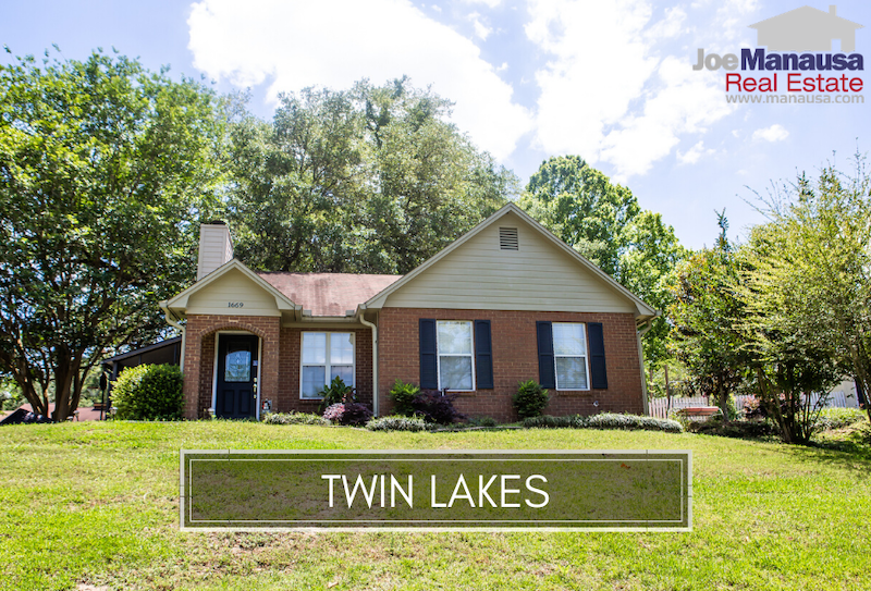 Twin Lakes is a small SE Tallahassee neighborhood located east of Southwood Plantation Road and just south of Apalachee Parkway.