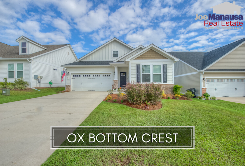 Ox Bottom Crest is a newer NE Tallahassee neighborhood located on the north side of Ox Bottom Road just off the western edge of Thomasville Road.