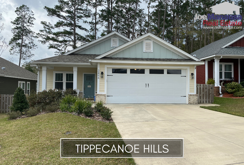 Tippecanoe Hills is a popular new neighborhood located between Old Bainbridge Road and Mission Road just north of Hartsfield Road on the west side of town.