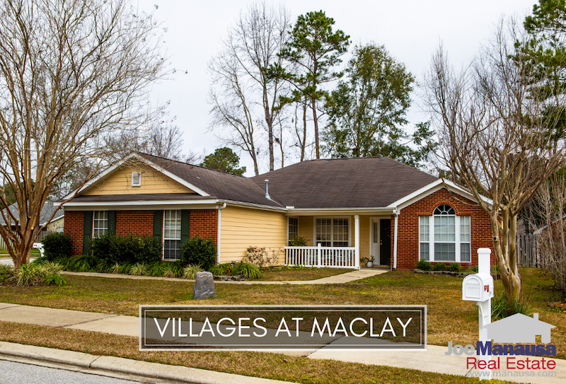 The Villages At Maclay is a small but popular NE Tallahassee neighborhood that is filled with a mix of nearly 250 single-family attached and detached homes.