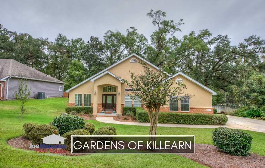 The Gardens of Killearn is a popular NE Tallahassee neighborhood that features 3 and 4 bedroom homes that were mostly built in the 1980s and 1990s.