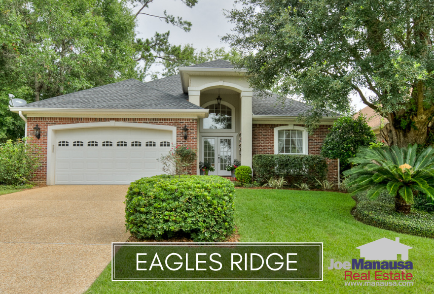 Eagles Ridge is a patio homes neighborhood located in NE Tallahassee, offering three and four bedrooms homes in a gated community.