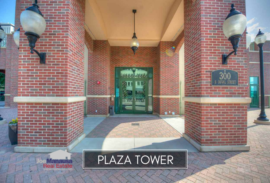 Plaza Tower offers a relatively new urban-style living opportunity in downtown Tallahassee.