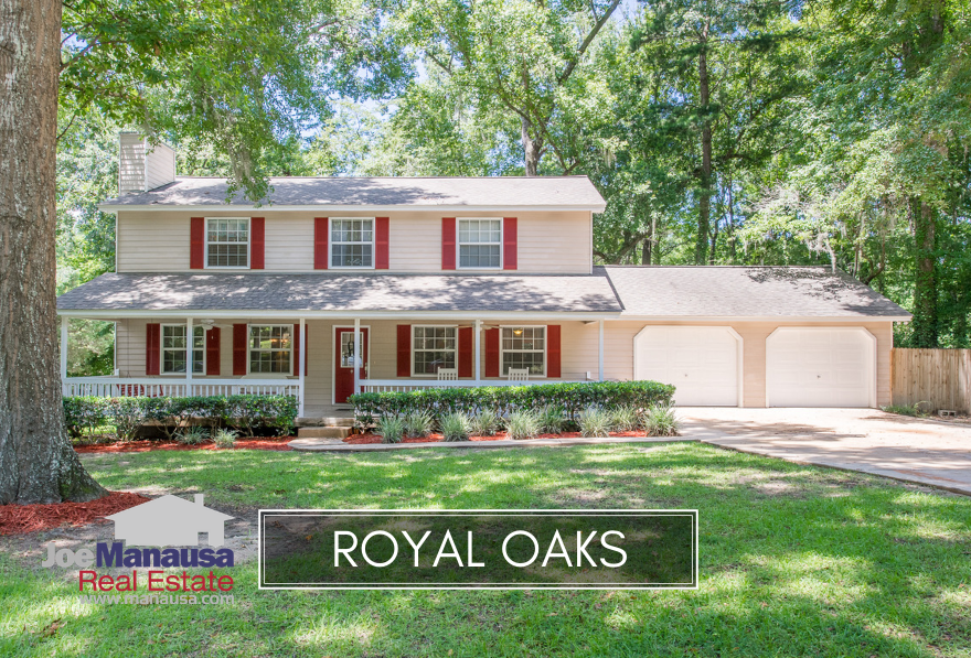 Royal Oaks is a popular NE Tallahassee neighborhood that features more than 200 three and four bedroom homes on lots that are much larger than those being developed today.