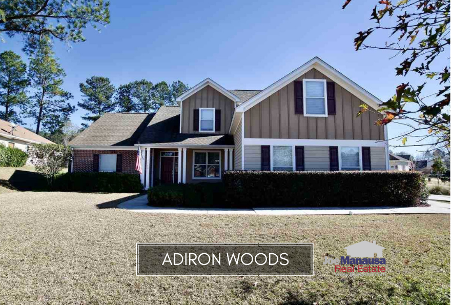 Adiron Woods is a thirteen year old neighborhood located on the east side of Tallahassee, featuring three and four bedroom homes that have been built since 2005.