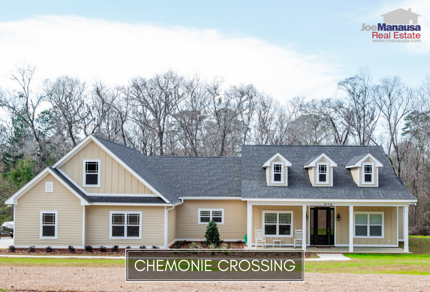 Chemonie Crossing is located out Centerville Road (just past Proctor Road) on the NE side of Tallahassee.