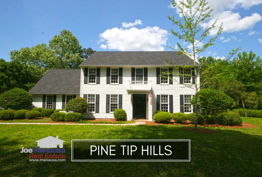 Pine Tip Hills is a small but popular neighborhood located on the north side of town.