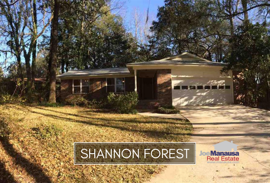 Shannon Forest is a small but popular neighborhood located in NE Tallahassee on the western edge of Killearn Estates.