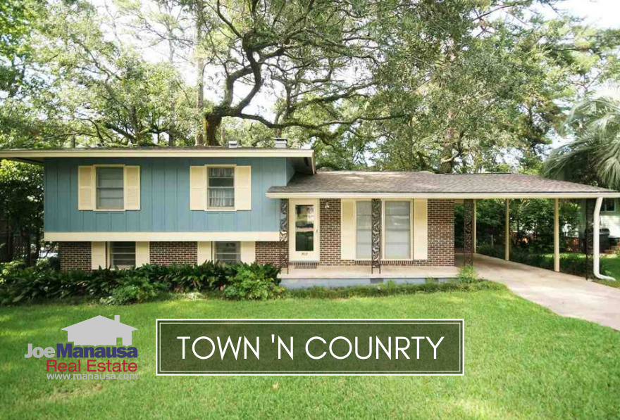 Town N Country Park is a gem of a neighborhood located within a mile of the updated Centre of Tallahassee.
