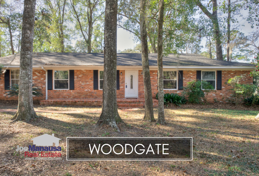 Woodgate is a high-demand neighborhood located along the Thomasville Road Corridor north of Midtown but well south of the interstate.