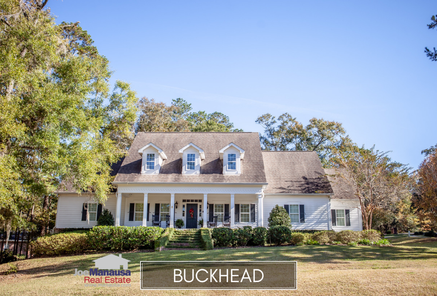 Buckhead is located in the 32309 zip code, on the east side of Centerville Road and across from the southern edge of Killearn Estates.