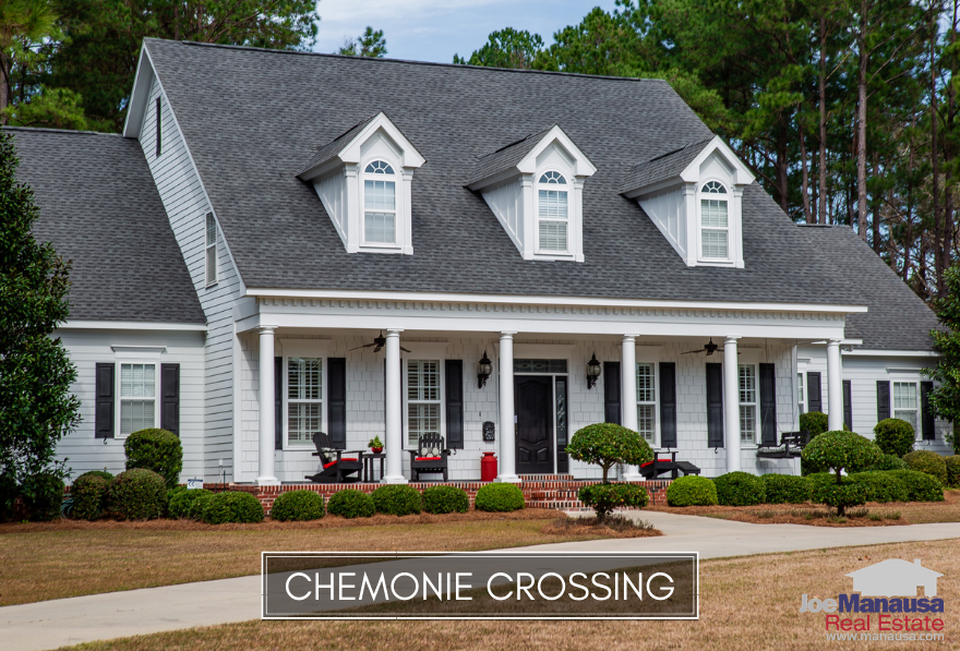Chemonie Crossing is a popular NE Tallahassee neighborhood that features larger homes on large lots that range from 1.5 acres to nearly 10 acres each.