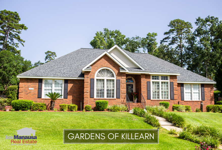 The Gardens of Killearn in NE Tallahassee remains super-hot even as many other nearby neighborhoods have slowed down with the recent rise in mortgage interest rates.