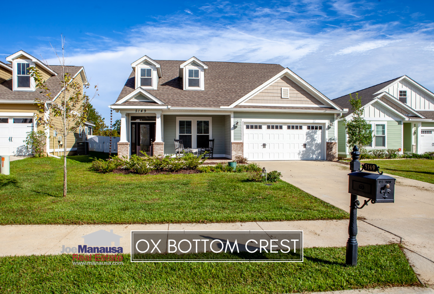 Ox Bottom Crest is a new neighborhood in Northeast Tallahassee located on the western edge of the Thomasville Road Corridor.