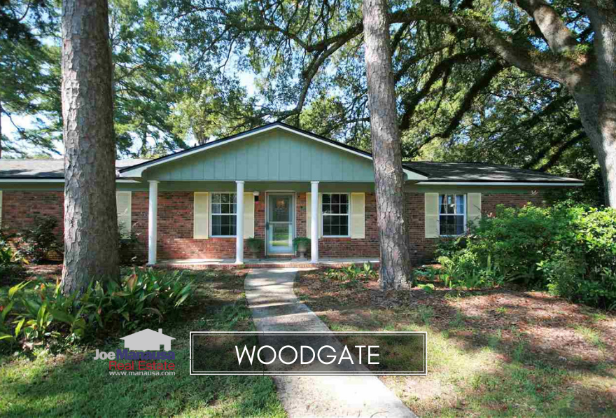 Woodgate is a highly popular neighborhood located along the Thomasville Road Corridor north of Midtown, and consequently, buyers often have to wait for new inventory to hit the market.