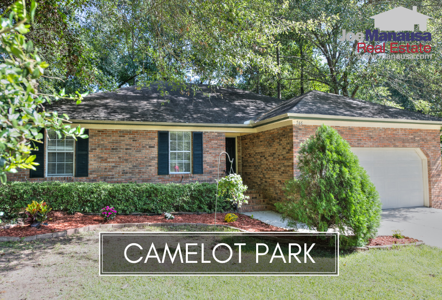 Camelot Park is a highly desired neighborhood located in the heart of downtown Tallahassee between E. Park Avenue and Apalachee Parkway.