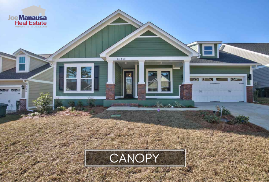 Canopy is a brand new Northeast Tallahassee neighborhood located at the intersection of Fleischmann Road and Centerville Road.